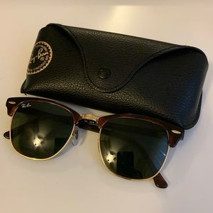 Authentic Ray-Ban Sunglasses Clubmaster Classics